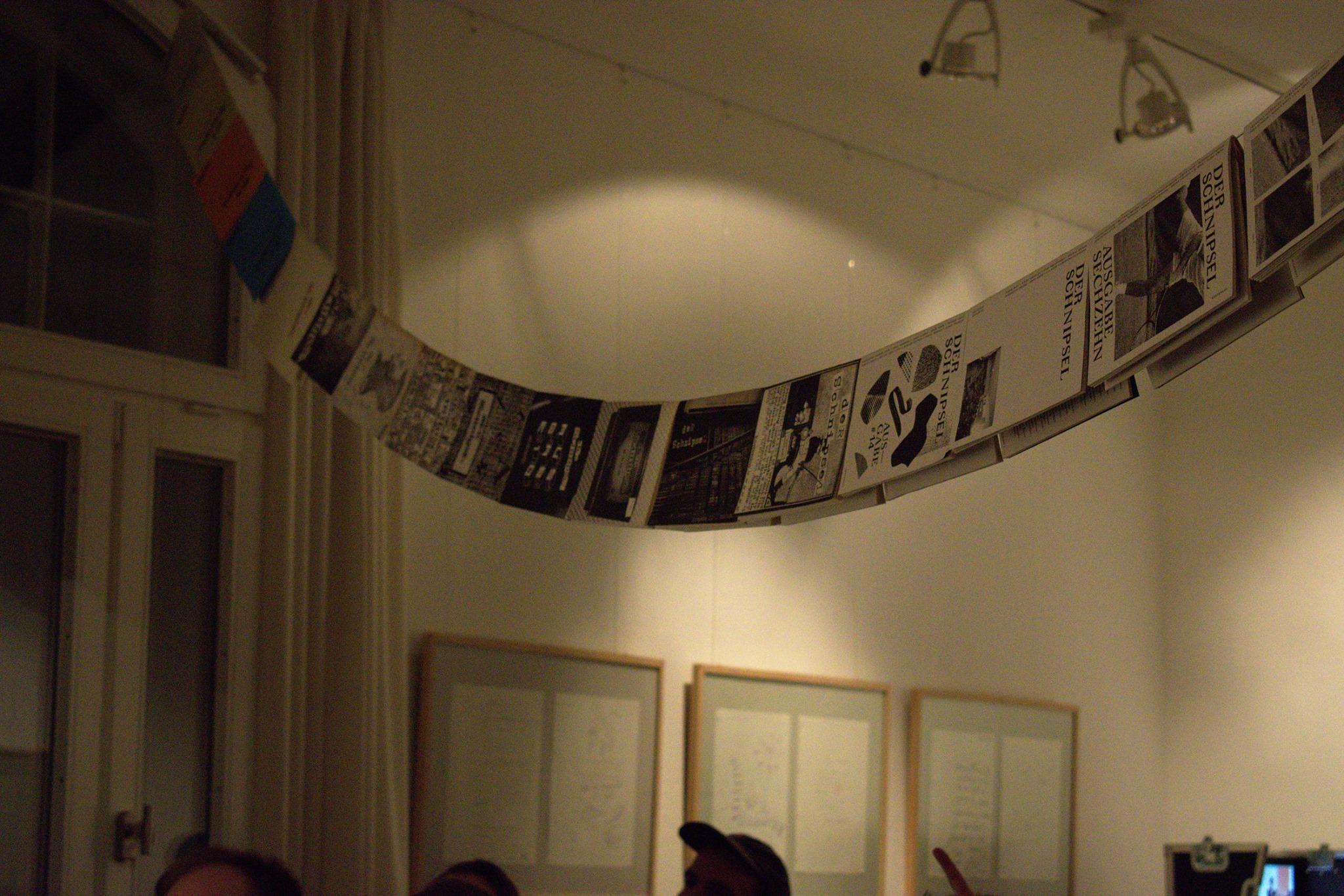 Der Schnipsel im Literaturhaus Schleswig-Holstein